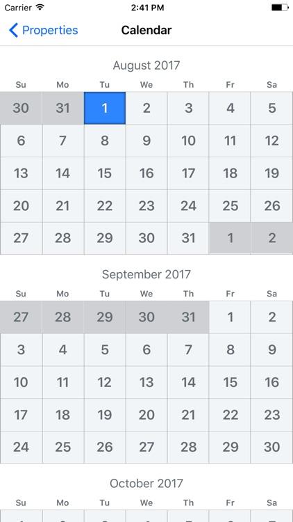 Builder Calendar screenshot-4