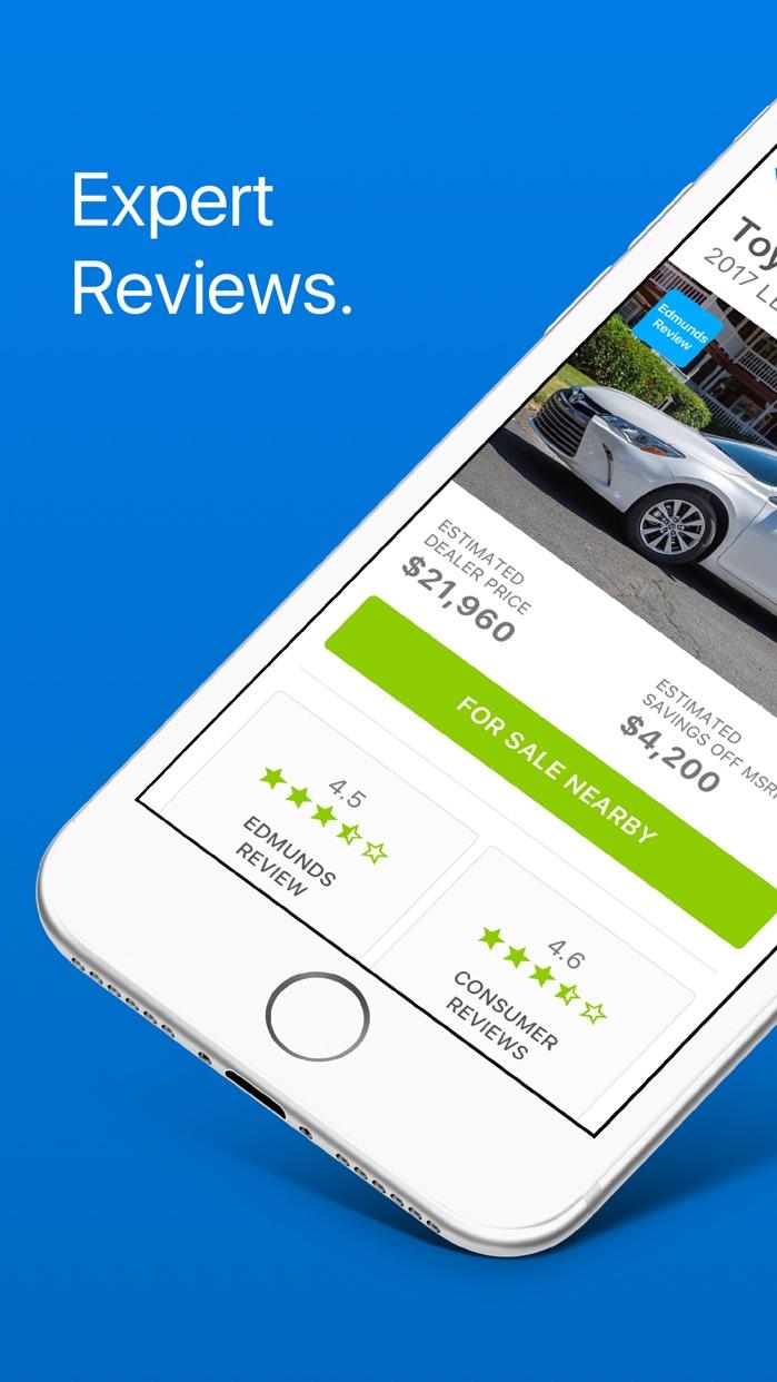 Edmunds - Shop Cars For Sale Screenshot