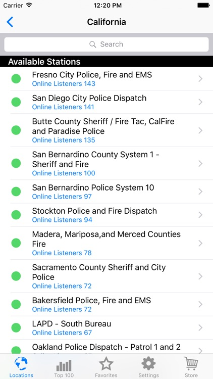 Police Radio Pro - Mobile Scanner screenshot-2