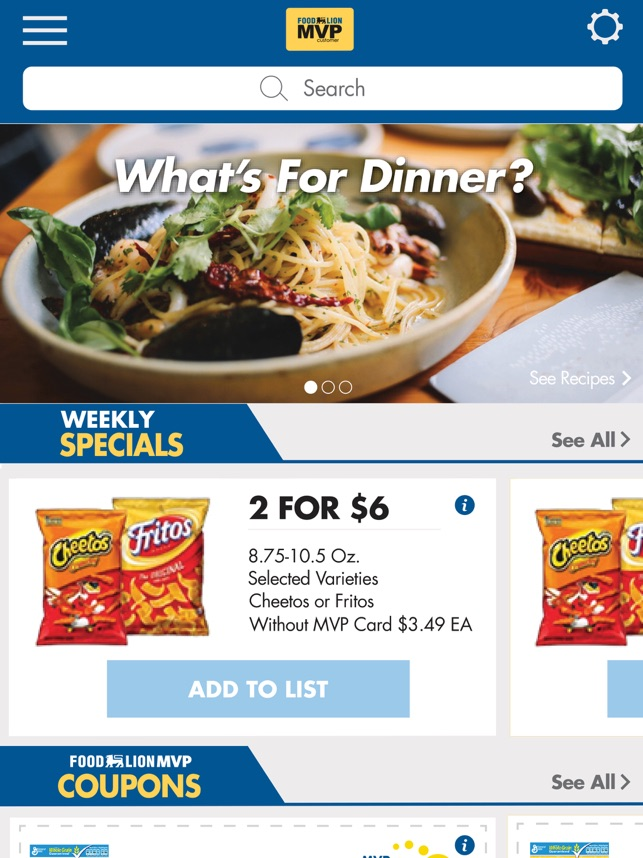 Food Lion On The App Store