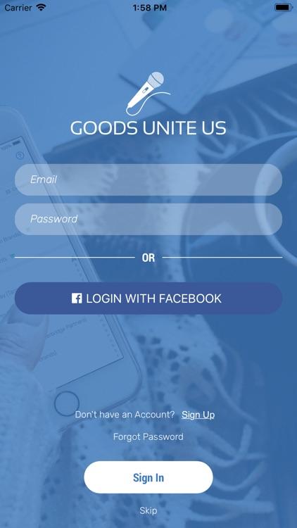 Goods Unite Us - Be A Politico screenshot-3