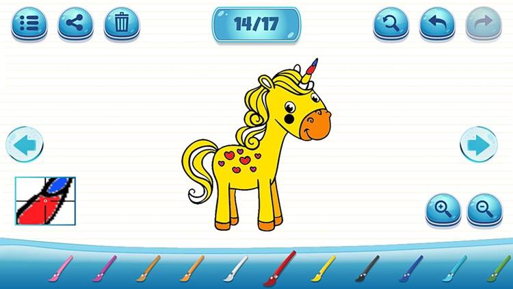 儿童宝宝绘画涂鸦游戏-幼儿园小孩学画画 screenshot-3