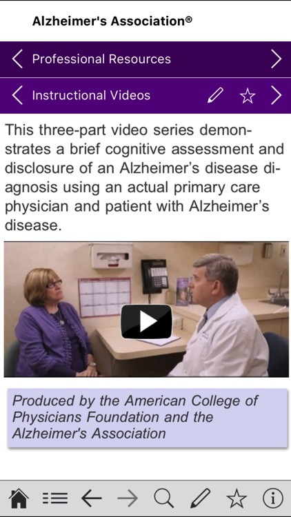 Alzheimer's Disease Pocketcard screenshot-3