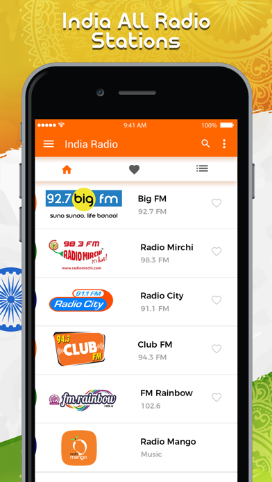 All India Radio Stations Live screenshot one