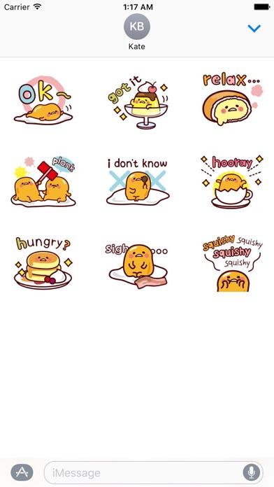Animated Cute Tiny Egg Sticker screenshot 2