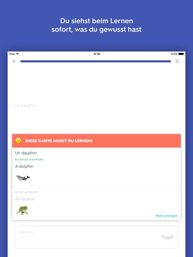 Quizlet Karteikarten Screenshot