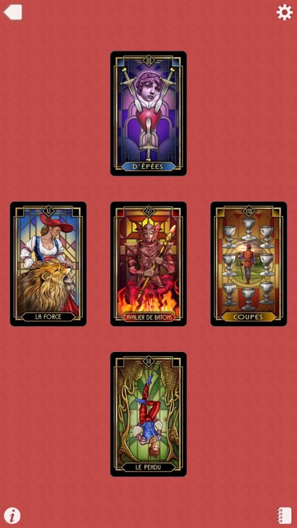 Ciro's Tarot Decoratif screenshot-4