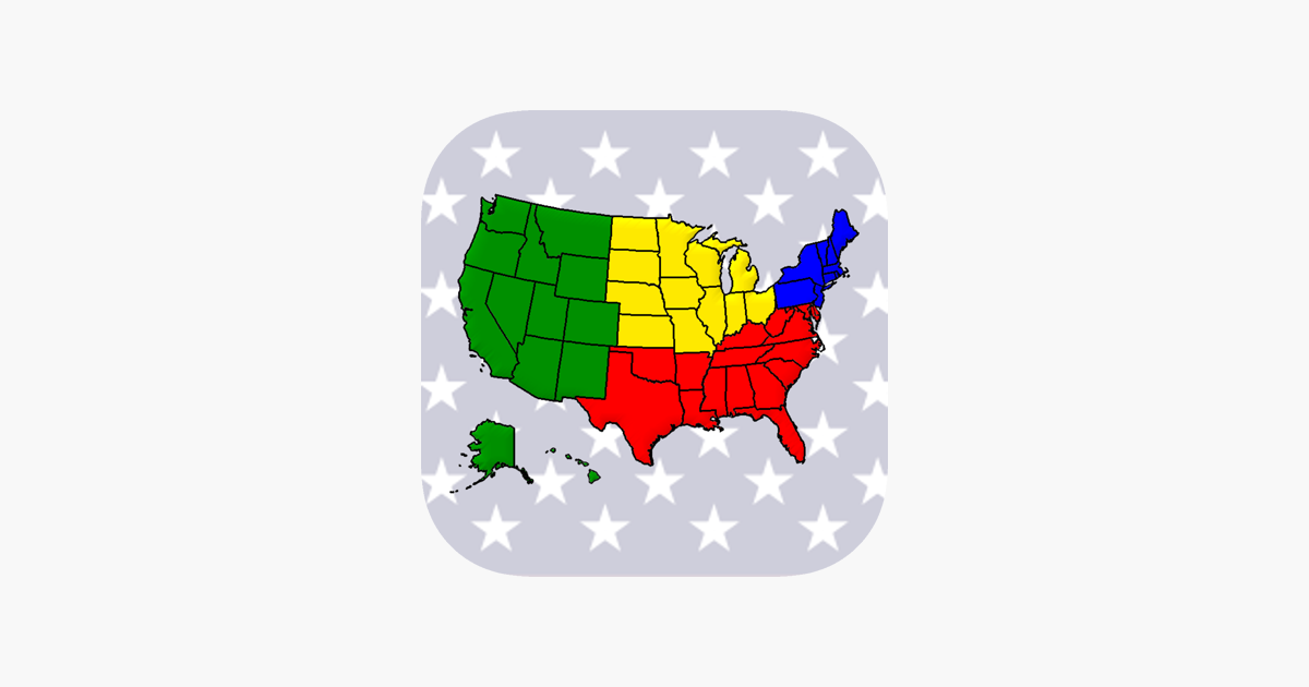 50 US States - American Quiz on the App Store