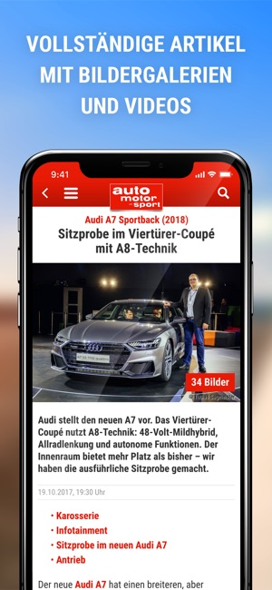 auto motor und sport on the App Store