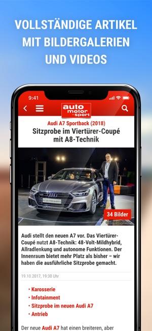 auto motor und sport im App Store