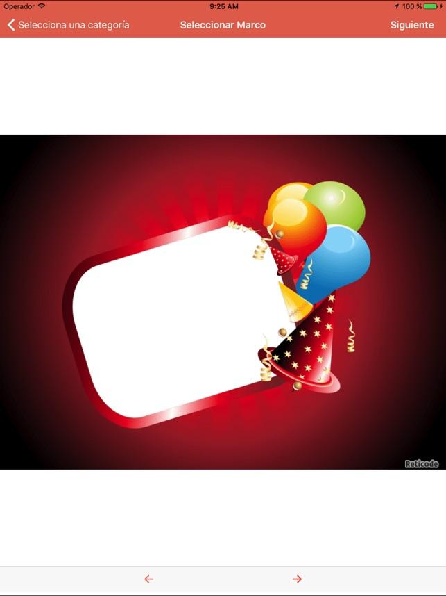 Marcos de cumpleaños - Editor en App Store