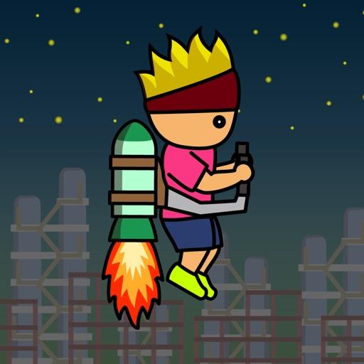 トニーくんのロケットジャンプ