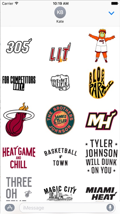 Miami HEAT Stickers