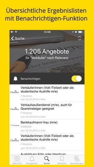 Jobbörse von meinestadt.de on the App Store