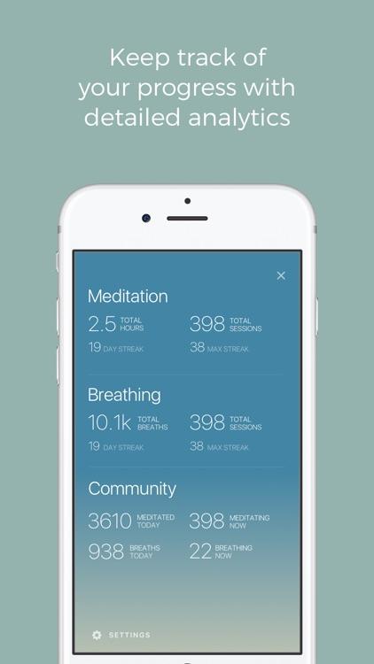 Oak - Meditation & Breathing screenshot-3