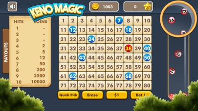 Keno Magic screenshot two