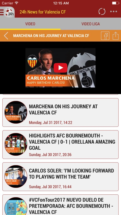 24h News for Valencia FC screenshot-4