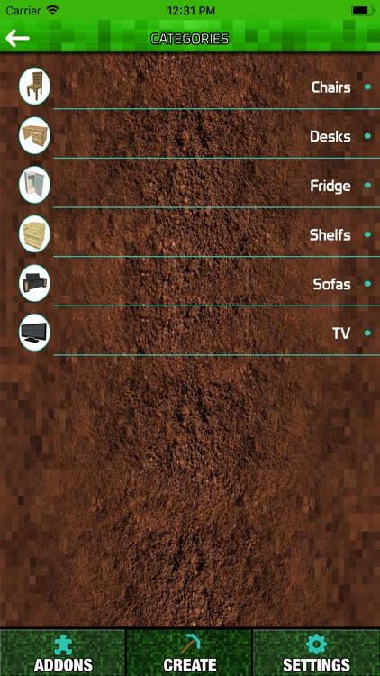 Furniture Addons for Minecraft screenshot-3