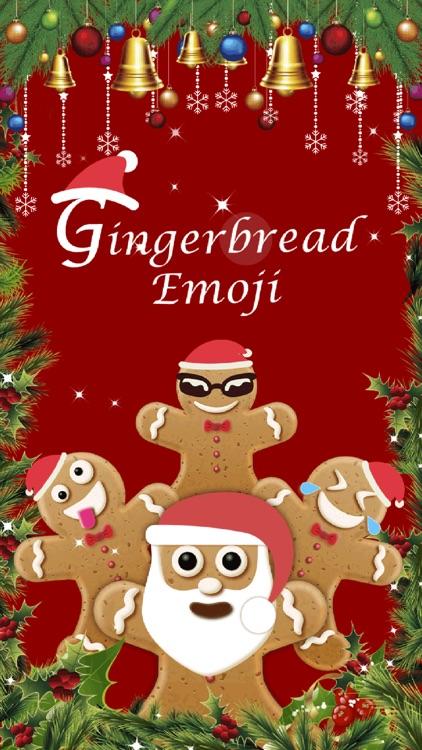 Christmas Gingerbread Emoji screenshot-3
