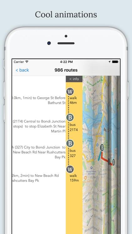 Sydney Public Transport screenshot-3