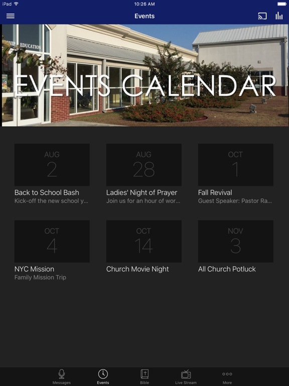 First Baptist Church Vidalia screenshot 5