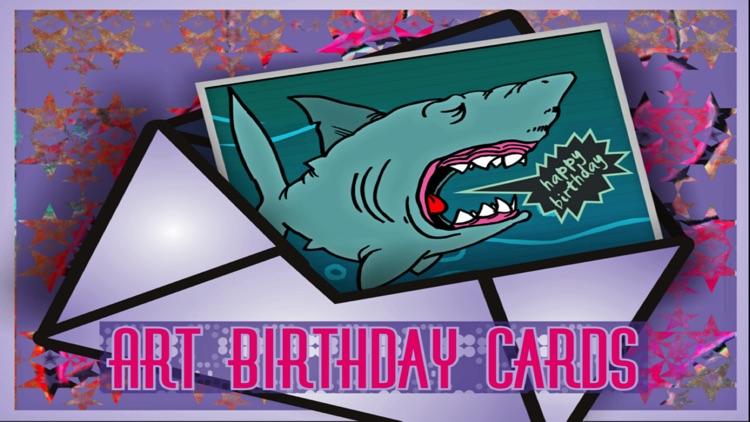 Art Birthday Cards