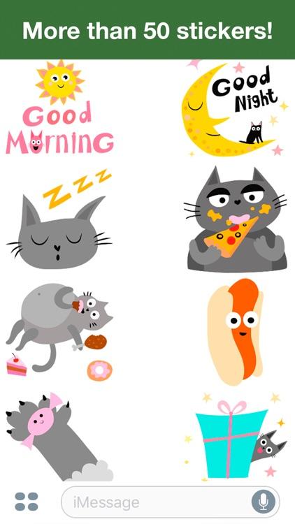 Cats - Cute stickers screenshot-3