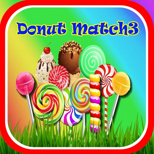 Donut Match3 Puzzle Game