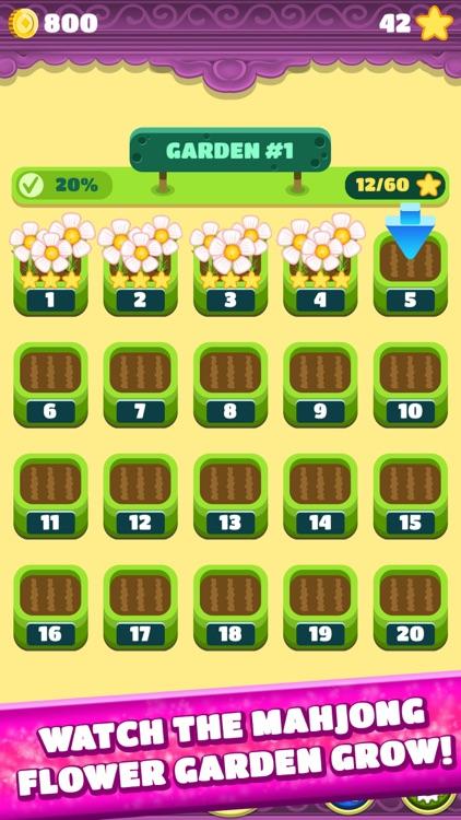 Mahjong Spring Flower Garden screenshot-7