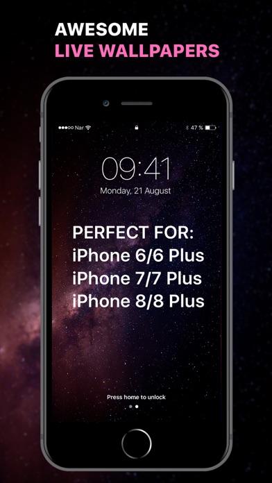 Télécharger Live Hd Wallpapers Pour Iphone Sur Lapp Store Utilitaires