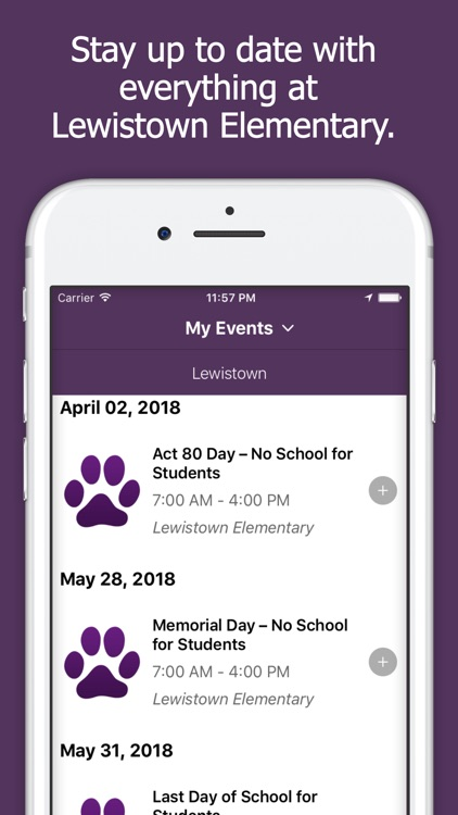 Lewistown Elementary App screenshot-0