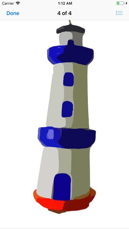 Lighthouse Stickers screenshot-4