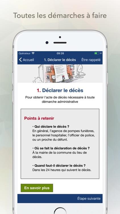 Obsèques en France screenshot-4