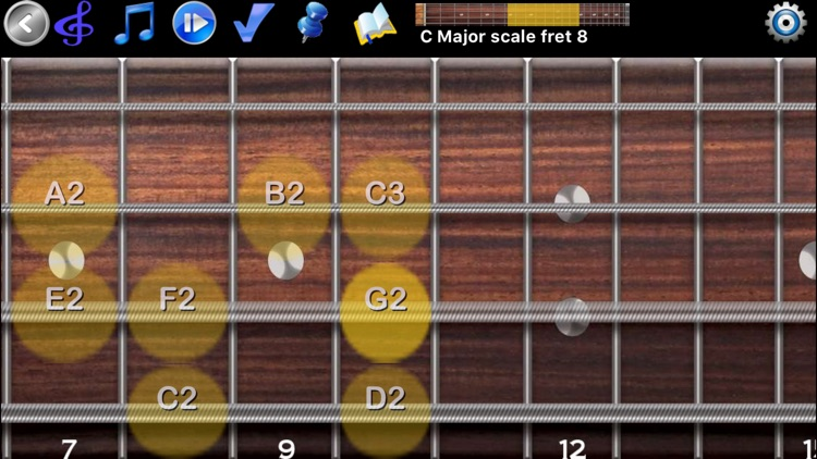 Bass Guitar Tutor Pro screenshot-0