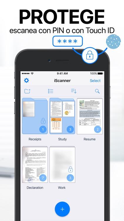 iScanner - Escáner PDF screenshot-4