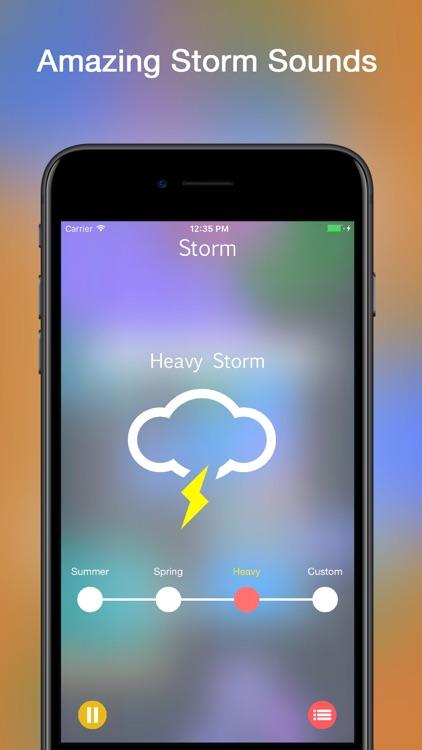 Storm Rain Sounds screenshot-0