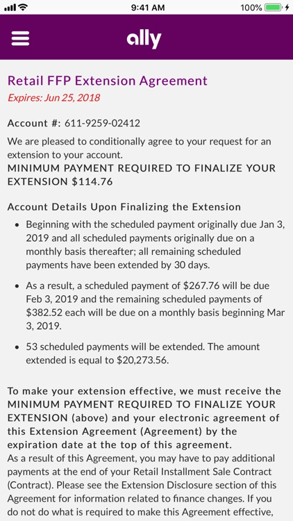 Ally Auto Mobile Pay screenshot-9