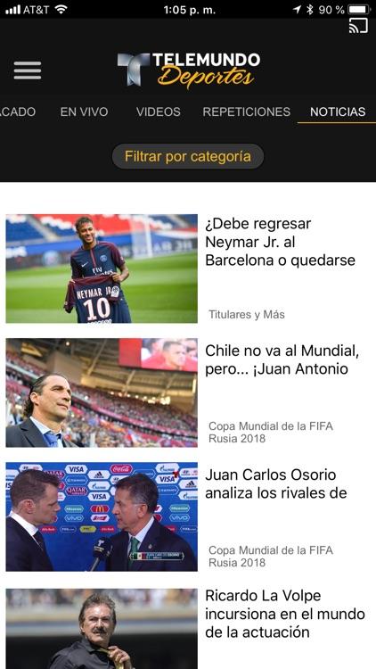 Telemundo Deportes - En Vivo screenshot-5