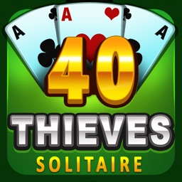 Forty Thieves Solitaire (New)