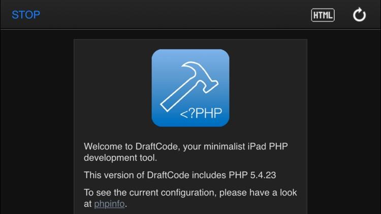 DraftCode Offline PHP screenshot-3