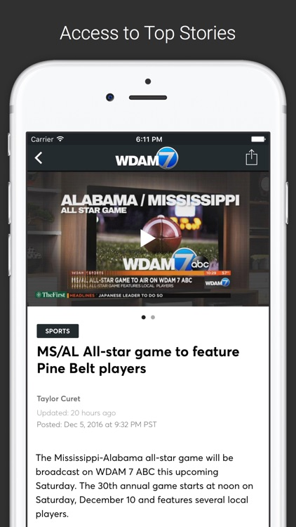 WDAM Local News screenshot-1