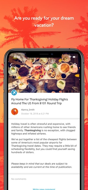 TravelPirates Top Travel Deals on the App Store