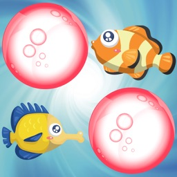 Fishes Match Game for Toddlers