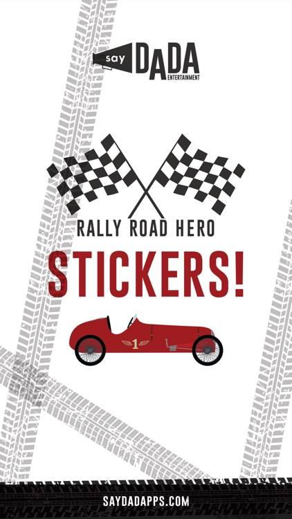 Rally Road Hero Stickers!