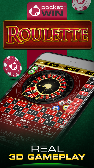 Roulette by PocketWin screenshot one