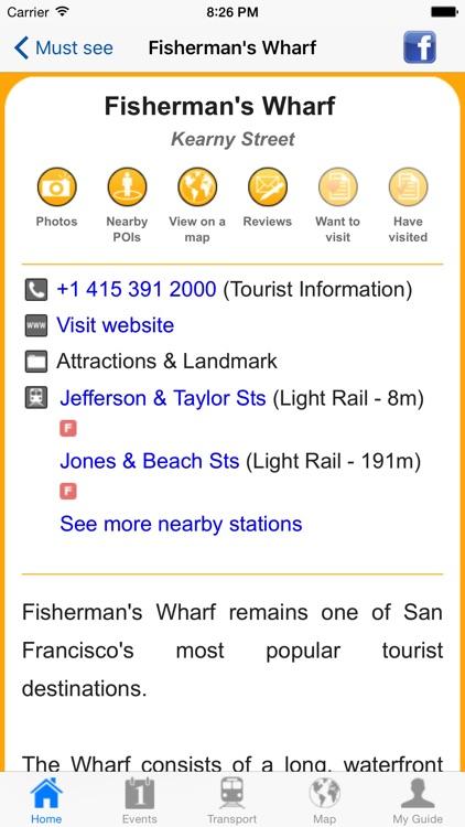 San Francisco Travel Guide OL screenshot-4