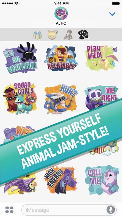 Animal Jam Stickersのおすすめ画像4