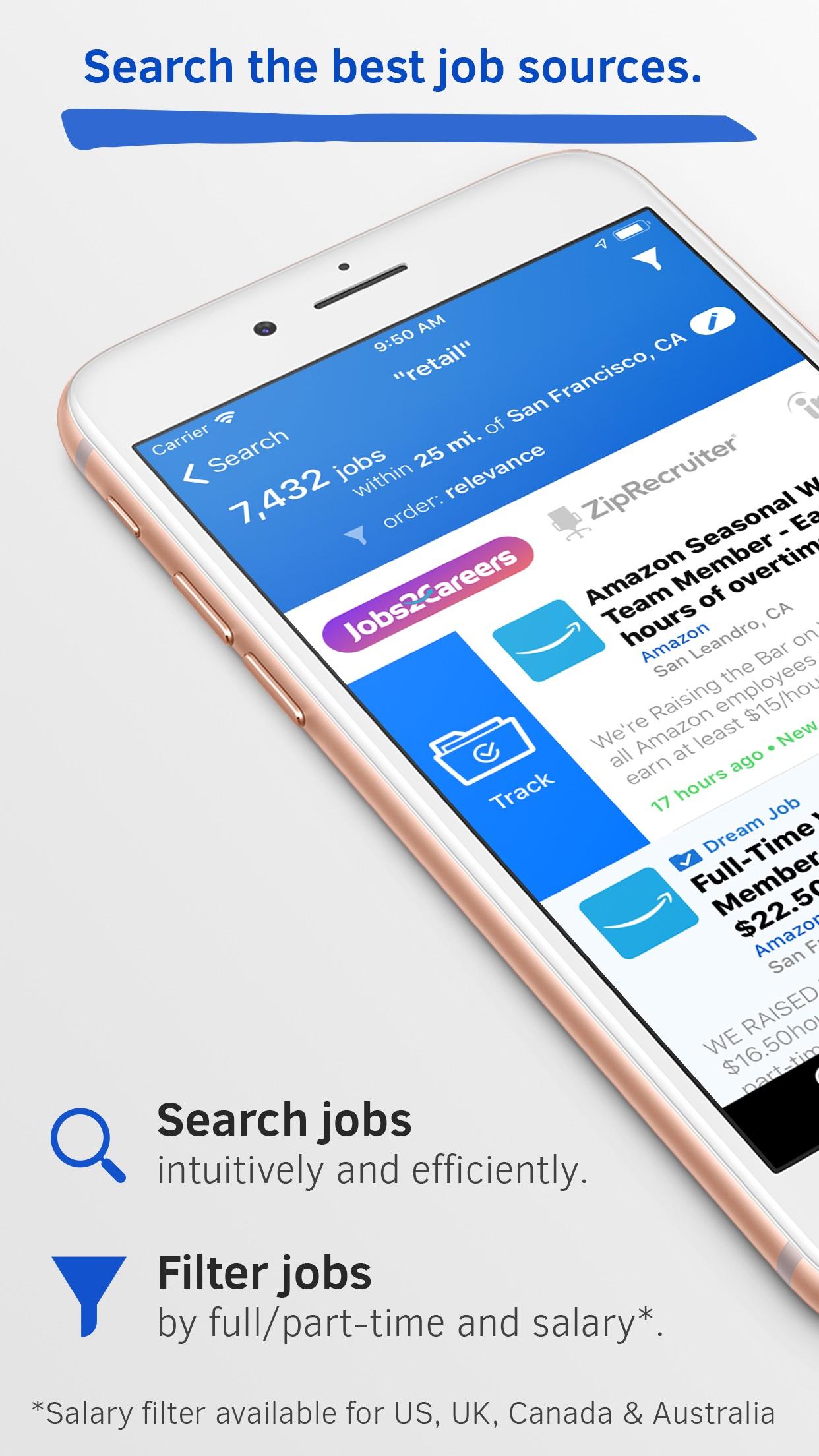 JobAware: Smarter Job Search Screenshot