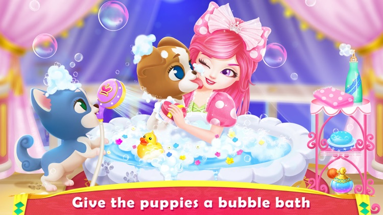 Royal Puppy Costume Party screenshot-3