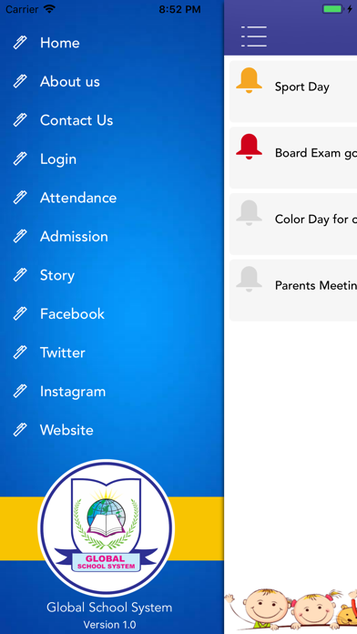 Global School System screenshot two